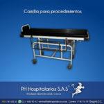 Camilla para procedimientos PH Hospitalarios