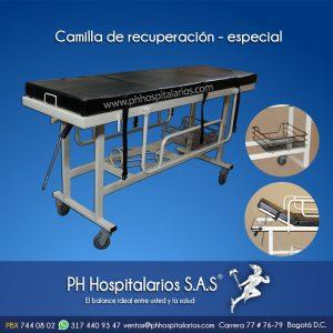 Camilla de recuperación - especial PH Hospitalarios