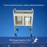 Carro porta-historias pintura electroestática - mod 303 PH Hos