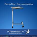 Mesa de Mayo - Pintura electroestática PH Hospitalarios