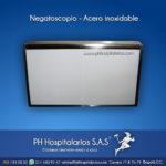 Negatoscopio - Acero inoxidable PH Hospitalarios