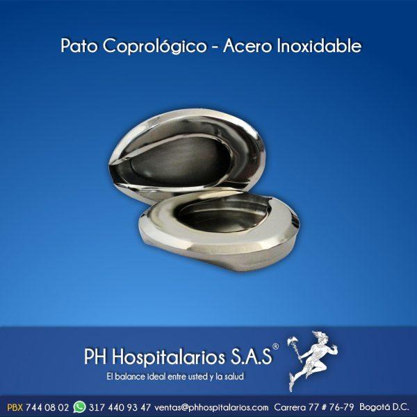 Pato Coprológico - Acero Inoxidable Muebles Hospitalarios Acero inoxidable - Pintura electroestática - Somos fabricantes