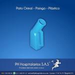 Pato Orinal - Pisingo - Plástico Muebles Hospitalarios Acero inoxidable - Pintura electroestática - Somos fabricantes