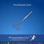 Pinza Bozeman recta Muebles Hospitalarios Acero inoxidable - Pintura electroestática - Somos fabricantes