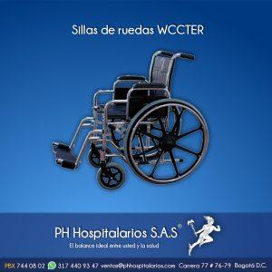 Sillas de ruedas WCCTER PH Hospitalarios