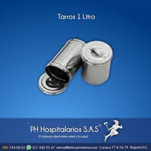 Tarros 1 Litro PH Hospitalarios