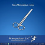 Tijera Metzembaum recta Muebles Hospitalarios Acero inoxidable - Pintura electroestática - Somos fabricantes