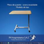 Mesa de puente - acero inoxidable Modelo de lujo Muebles Hospitalarios Acero inoxidable - Pintura electroestática - Somos fabricantes