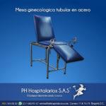 mesa ginecologica tubular acero Muebles Hospitalarios Acero inoxidable - Pintura electroestática - Somos fabricantes