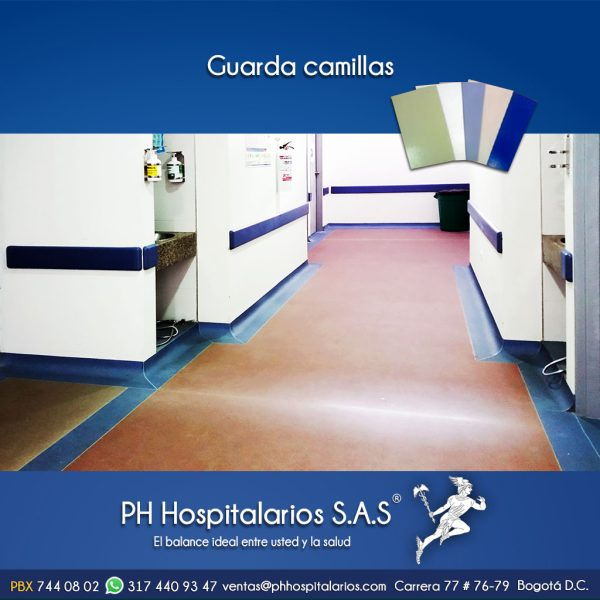 Guarda camillas PH Hospitalarios Muebles Hospitalarios Acero inoxidable - Pintura electroestática - Somos fabricantes