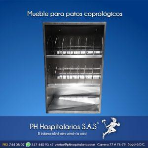 PH Hospitalarios mueble para patos coprológicos