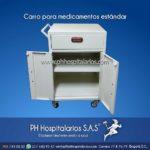 Carro Medicamentos Sencillo - Pintura Electrostática