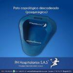 PH Hospitalarios pato coprologico descaderado plastico azul