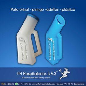 Ph hospitalarios pato orinal pisingo adulto plástico