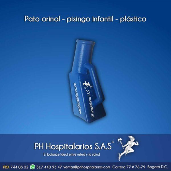 Ph hospitalarios pato orinal pisingo infantil plástico