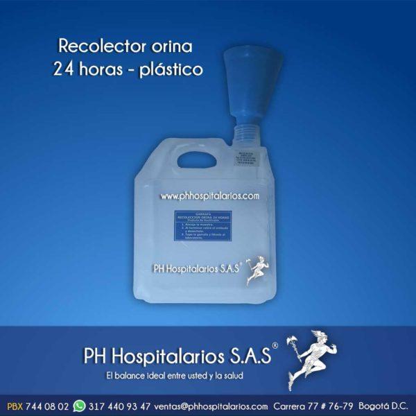 Recolector orina 24 horas - Pato Orinal - Pisingo - Plástico Muebles Hospitalarios Acero inoxidable - Pintura electroestática - Somos fabricantes