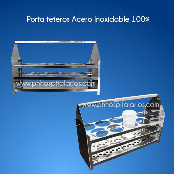 Porta Teteros PH Hospitalarios - muebles en acero inoxidable