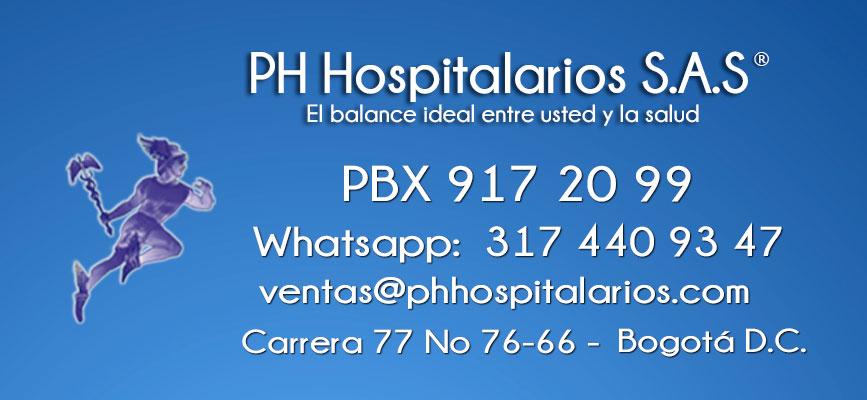 PH Hospitalarios contacto 2021